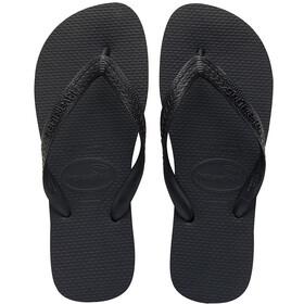 havaianas Top Sandalen, black